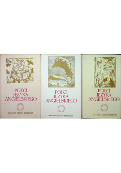 Poeci języka angielskiego 3 Tomy