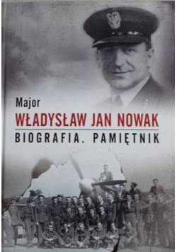 Major Władysław Jan Nowak Biografia Pamiętnik