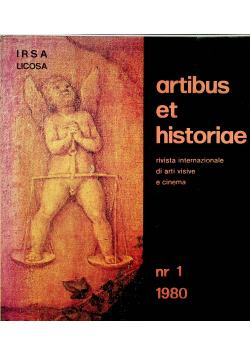 Artibus et historiae nr 1