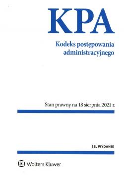Kodeks postępowania administracyjnego Przepisy