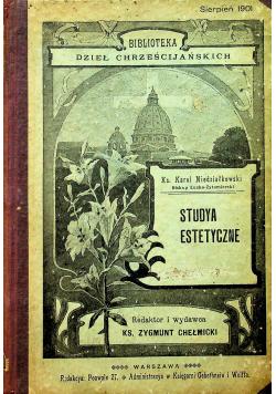 Studya estetyczne 1901 r