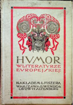 Humor w literaturze europejskiej ok 1949 r.