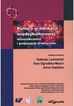 Kultura w edukacji międzykulturowej
