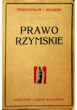 Prawo Rzymskie 1947 r