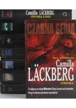 Saga kryminalna Lackberg 8 tomów