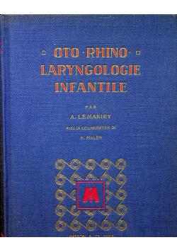 Laryngologie infantile