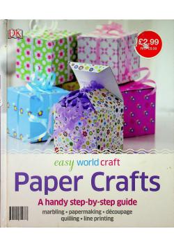 Easy world craft Paper Crafts
