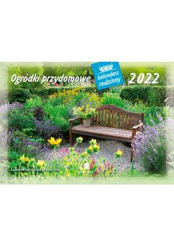 Kalendarz 2022 WL11 Ogródki przydomowe Kalendarz rodzinny