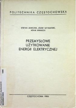 Przemysłowe użytkowanie energii elektrycznej