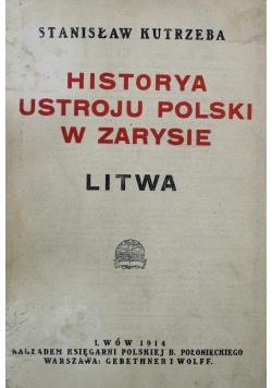Historia ustroju polski w zarysie 1914 r.