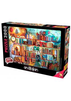 Puzzle 3000 Biblioteka pełna przygód