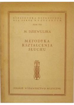 Metodyka kształcenia słuchu tom VII 1948 r