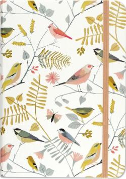 Notatnik mini Śpiewające Ptaki