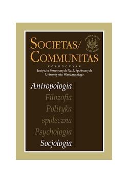 Societas / communitas