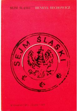 Sejm Śląski 1922 1939