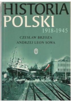 Historia Polski 1918 do 1945