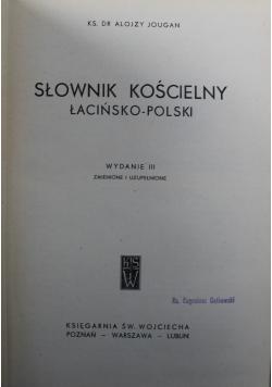 Słownik Kościelny Łacińsko Polski