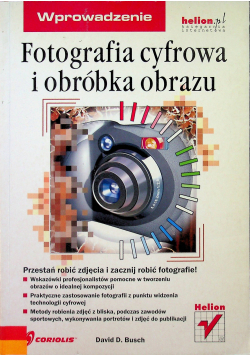Fotografia cyfrowa i obróbka obrazu
