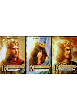 Królowie przeklęci tomy od 1 do 3