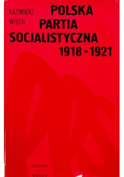 Polska partia socjalistyczna 1918  1921
