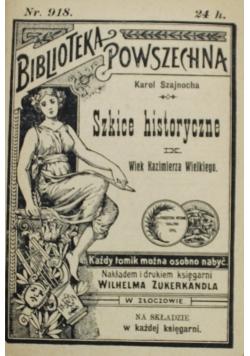 Szkice historyczne IX 1902 r.