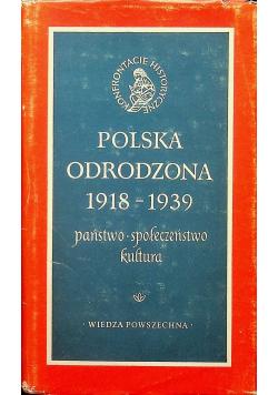 Polska odrodzona 1918 1939