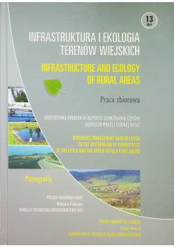 Infrastruktura i ekologia terenów wiejskich nr 13
