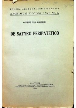 De satyro peripatetico 1929r