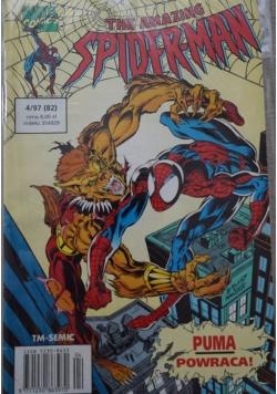 The amazing Spider Man Nr 4 Puma powraca