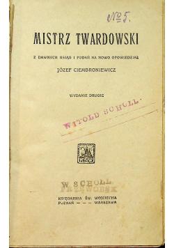 Mistrz Twardowski / Przeklęty ród / Ave 1939 r.