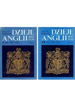 Dzieje Anglii Tom I i II