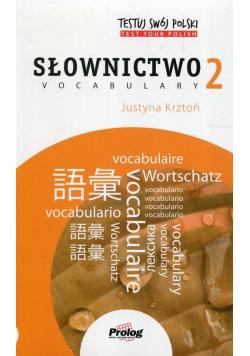 Testuj swój polski Słownictwo 2