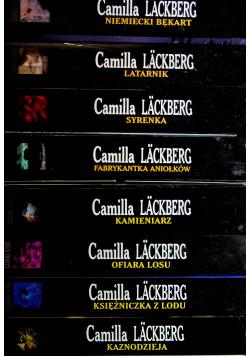 Lackberg 8 tomów