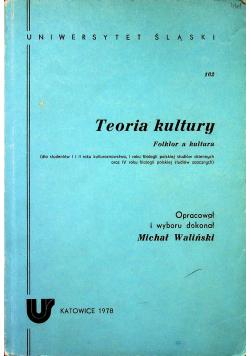 Teoria kultury Folklor a kultura