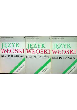 Język Włoski dla Polaków 3 Tomy