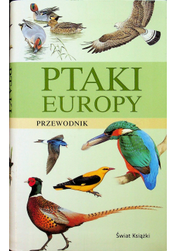 Ptaki Europy przewodnik