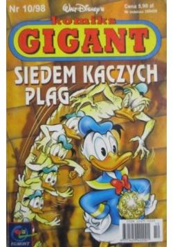 Komiks Gigant - Siedem kaczych plag