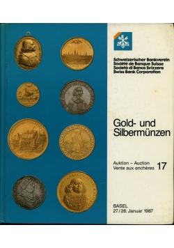 Gold und Silbermunzen