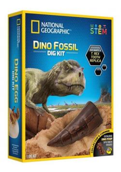 Zestaw wykopaliskowy Skamieliny dinoazura Nat Geo