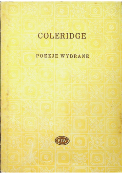 Coleridge Poezje Wybrane