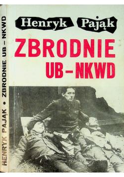 Zbrodnie UB NKWD Autograf Pająka