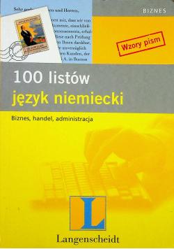 100 listów język niemiecki