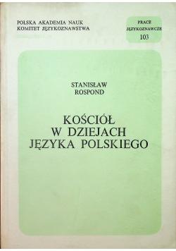 Kościół w dziejach języka polskiego
