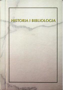 Historia i Bibliologia