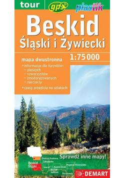 Beskid Śląski i Żywiecki - mapa turystyczna Demart