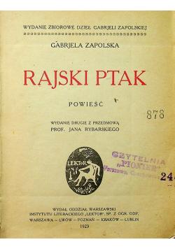 Rajski Ptak 1923 r.