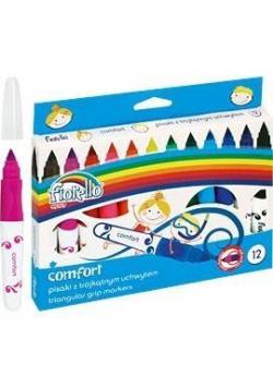 Pisaki Comfort 12 kolorów FIORELLO
