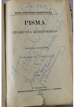 Pisma Zygmunta Krasińskiego tom II 1890 rok