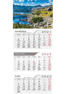 Kalendarz 2022 Trójdzielny Tatrzańska dolina CRUX