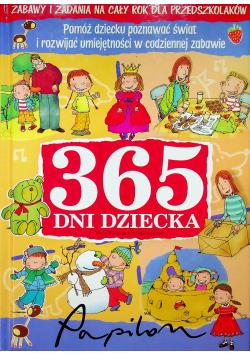 365 Dni Dziecka Zabawy i Zadania na Cały Rok dla Przedszkolaków